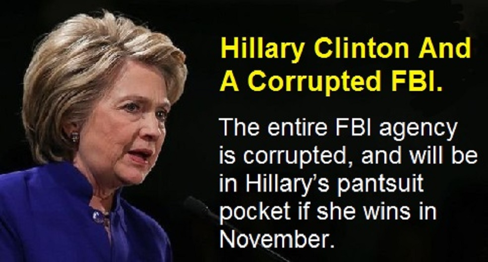 Hillary Clinton Corrupted-FBI
