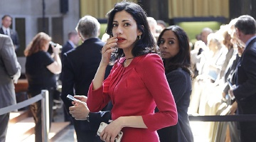 Hillary's Girl Friday Huma Abedin was mentioned a number of times in the Wikileaks documents.