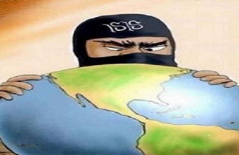 ISIS Eye on Globe