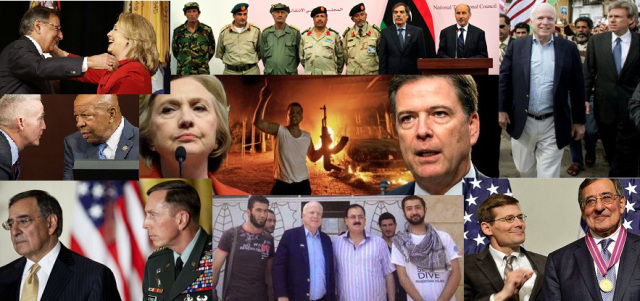 A large part of the Battle of Benghazi and the Clinton scandal was the CIA gun-running operation that's being kept from the public by Obama and the Justice Department.