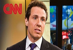 Chris Cuomo, the son of New York's former liberal Governor Mario. is a Democratic Party hack pretending to be a newsman., say critics.