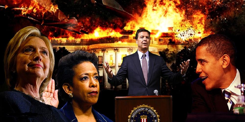 hillary-james-comey-fbi-loretta-lynch-barack-obama-private-email-server-scandal-nteb
