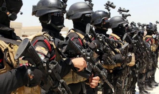 American trained Iraqi counter-terrorists.