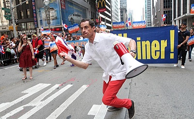 It's been said that during Weiner's short-lived mayoral campaign he made a fool out of himself.