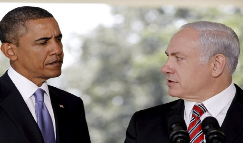 Benjamin netanyahu and obama