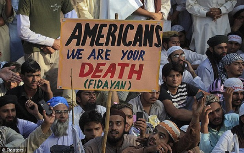 Muslims threaten America