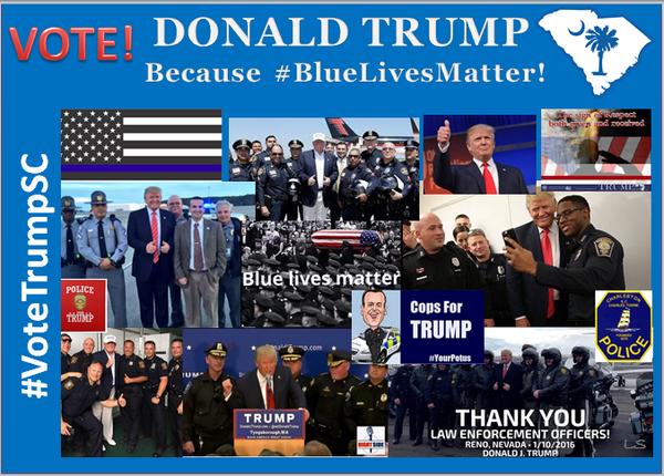 Trump and Cops