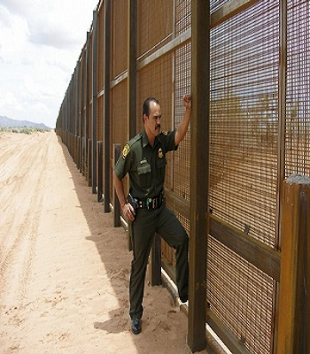 U.S. Border Patrol agent with what's left of Secretary Napolitano's project that failed. Some claim she allowed it to fail on purpose.