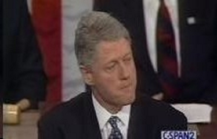 Bill Clinton SOTU