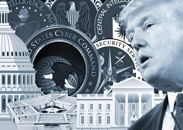Many believe that Trump's problem is being an outsider of the Deep State (Shadow Government).