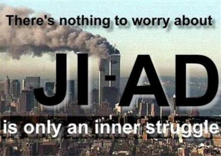 Democratic apologists for Muslim terrorists often re-define the meaning of the word Jihad.
