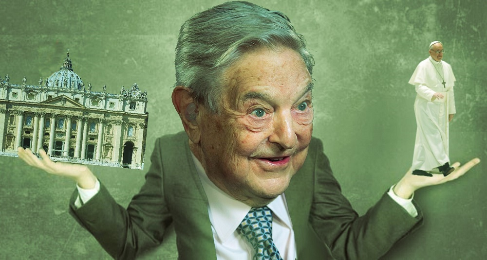 George Soros the infamous multi-billionaire and leftist hero.
