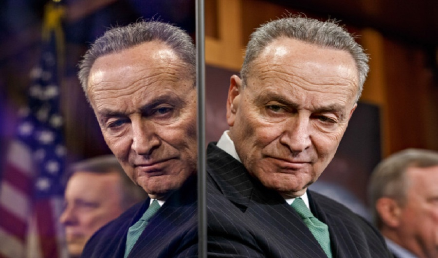 Senator Chuck Schumer, D-New York, the Senate's new Minority Leader, is disliked as much as his predecessor, Harry Reid.