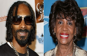 Snoop Dog -- a former member of The Crips street gang -- and Rep. Waters are working on projects together.