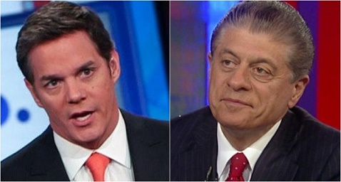 Fox News anchor Bill Hemmer had Judge Andrew Napolitano on his show for the first time in two weeks he was banned from the station.