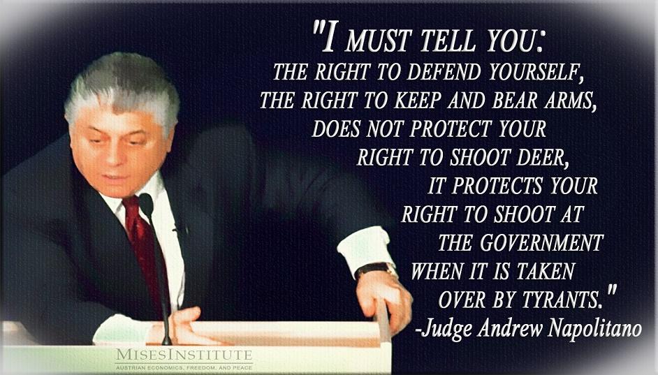 Andrew Napolitano and Guns