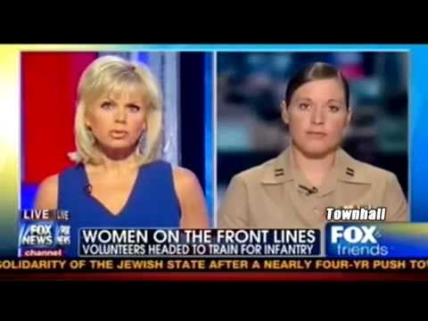 Female Marine on Fox
