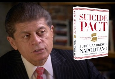 Judge Andrew Napolitano is well-known as a legal scholar and a Constitutional Originalist in the Garden State.