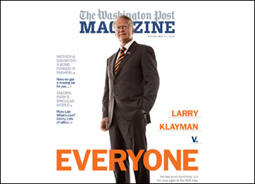 In May 2014, the Washington Post featured Klayman in its magazine section.