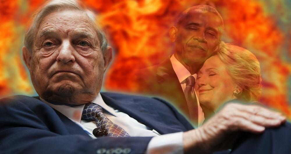 Soros-Obama-Clinton