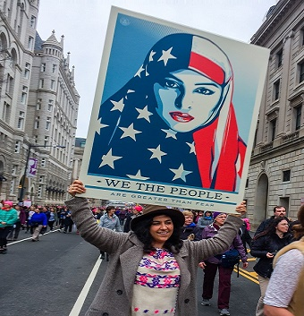 Do these women know what their sisters must endure in Muslim countries?