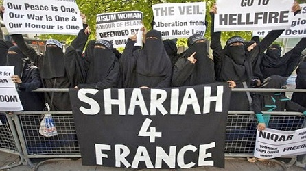 Once they arrive in France, many of the Muslim refugees voice their preference for the laws that were in effect in the nations from which they escaped.
