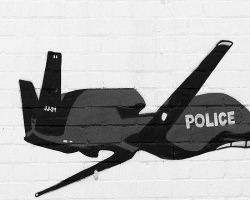 One of several models of UAV's being considered by law enforcement for urban use.