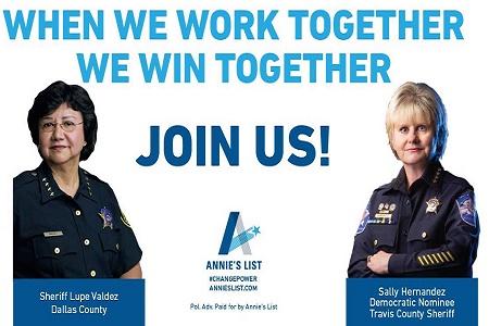Just what America needs today: More progressives commanding law enforcement agencies.