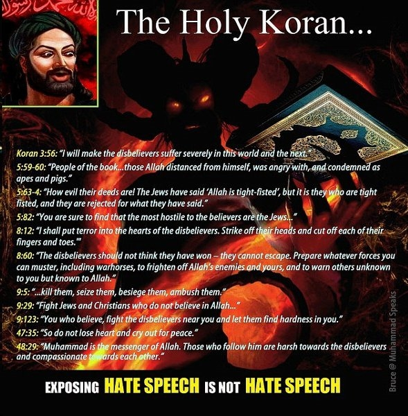 Here are some highlights contained in the Koran.