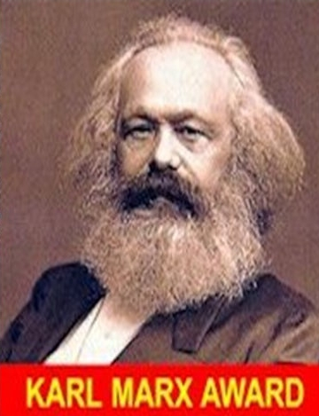 The legendary Karl Marx, to whom the news media owes a great deal.
