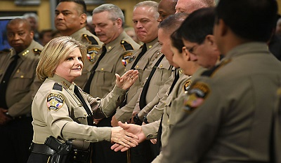Sheriff Sally Hernandez tells people she follows ICE protocols, then does the opposite.
