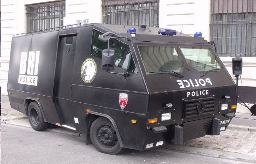 French Police Armored Truck