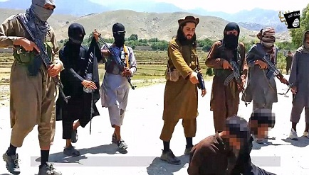 ISIS members reportedly executed some of the Taliban members in Afghanistan.
