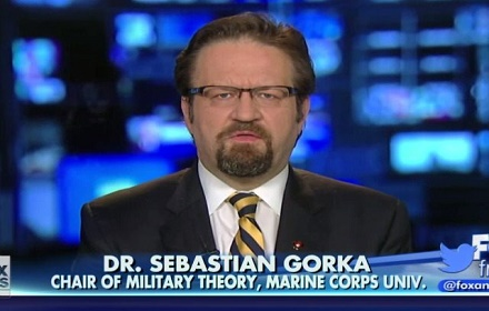 "Military and law enforcement officials recognize Dr. Gorka as ""the real deal"" when it comes to intelligence and strategic thought."