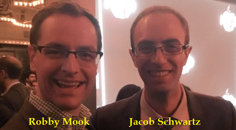 Robby Mook (left) served as one of Hillary Clinton's campaign managers while accused sexual predator Jacob Schwartz (right) worked on her failed presidential run.