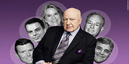 Ailes and his one-time FNC primetime lineup.