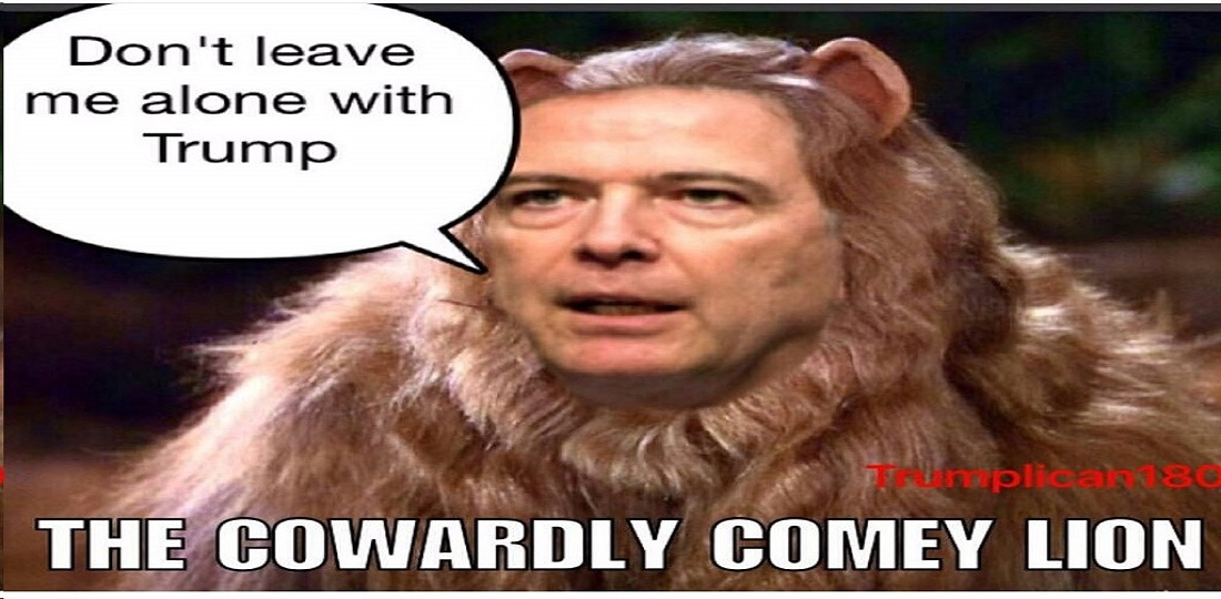 Comey the coward