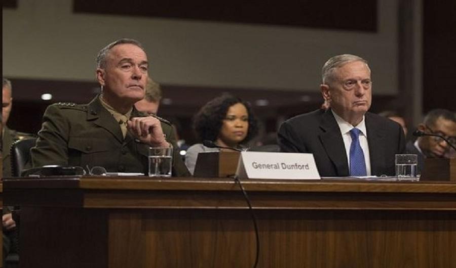 Gen. Mattis testifying