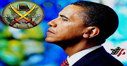 """President Obama and Secretary of State Hillary Clinton supported the Muslim Brotherhood and lied to Americans that these jihadists were """"moderates."""" MB representatives frequently visited the White House."""