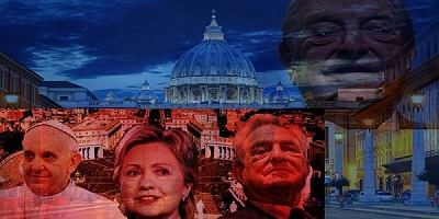 Besides being a supporter of Hillary Clinton, Soros has been closely working with Pope Francis.