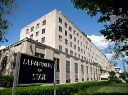 The U.S. State Department headquarter building..