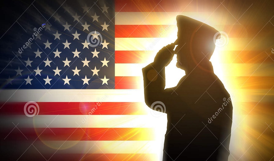 officer-salutes-american-flag-background-male-bright-light-57057769