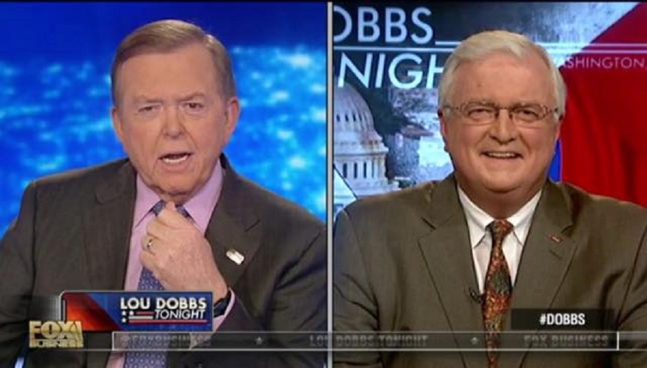 van hipp and lou dobbs