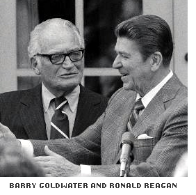 Goldwater and Reagan