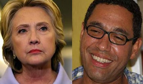 Hillary Clinton and Haitian official the late Klaus Eberwein. Eberwein met the same fate as a number of people who got involved with America's answer to the Borgias.