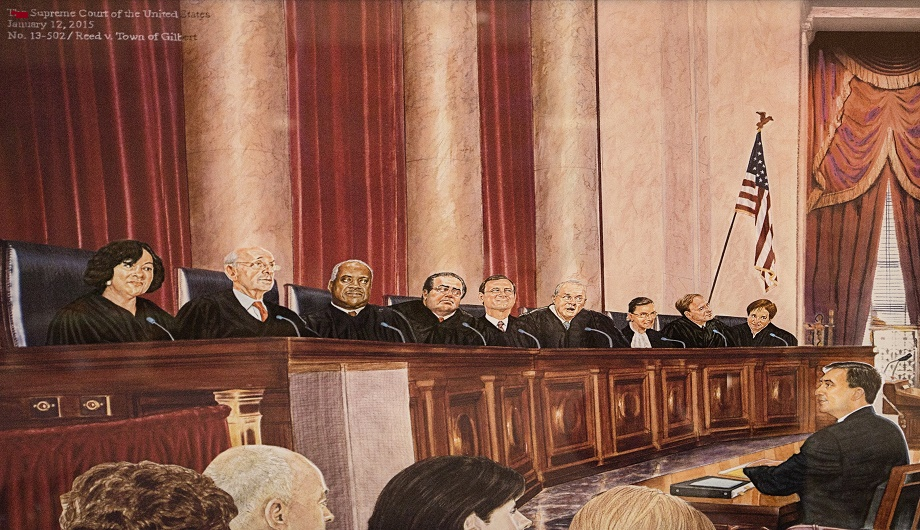 Supreme court drawing