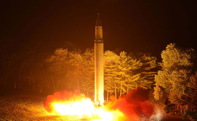 The North Koreans continue to develop their missiles with the goal of being able to strike the U.S. mainland.