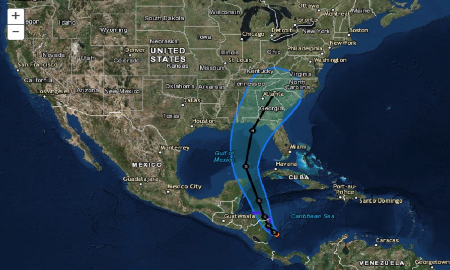 u s northern command prepares for tropical storm nate by jim garamone